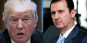 Trump and Assad